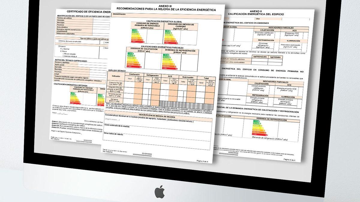 Informe para la redacción de un certificado energético.
