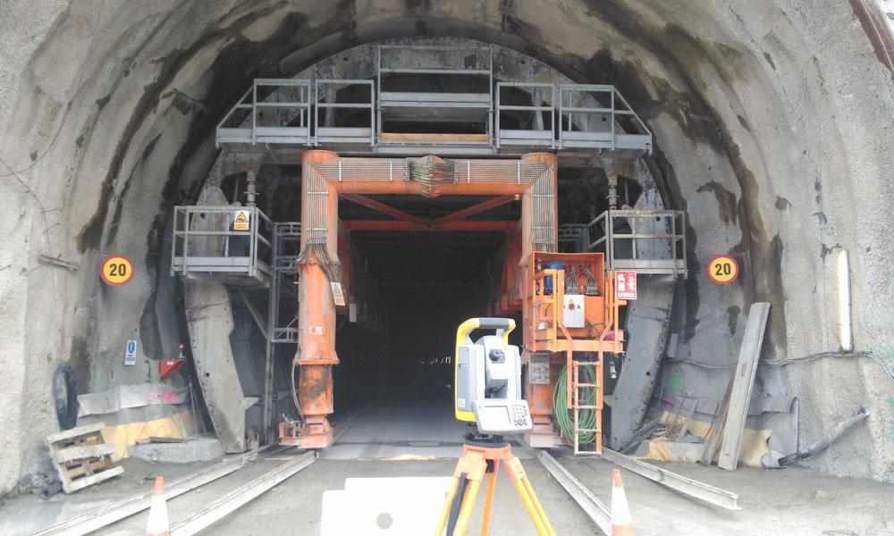 Túnel Topografía - Nadir Servicios de Ingeniería